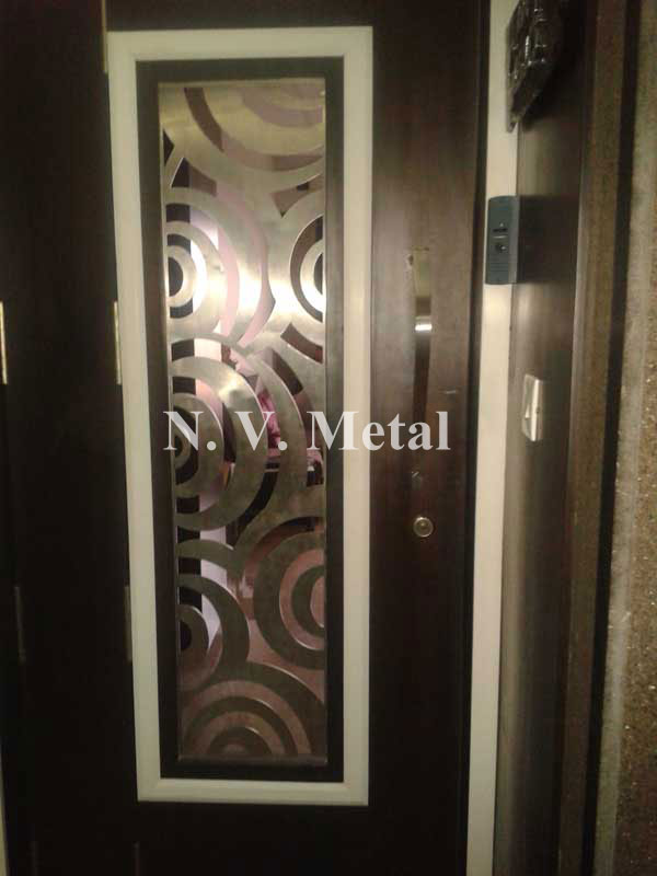 Safety door laser grill manufacturer in mumbai later Grill main door design